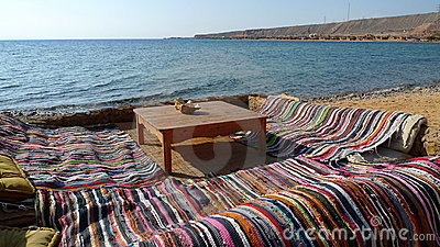 Siesta place at Red Sea, Egipt.