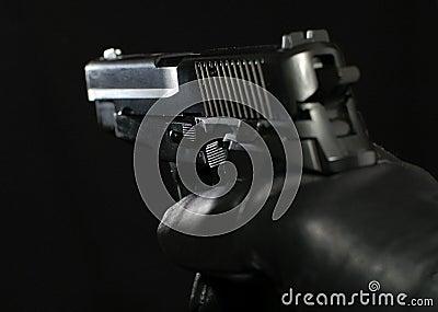 Sig P-228 hand-gun (plastic replica)