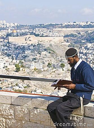 Sigd in Jerusalem Editorial Stock Photo