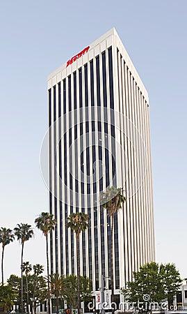 Sièges sociaux de revue de variété à Los Angeles Photo stock éditorial