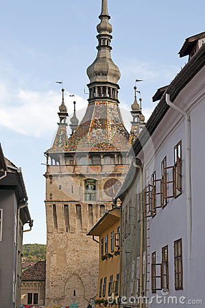 Sighisoara bell clock tower