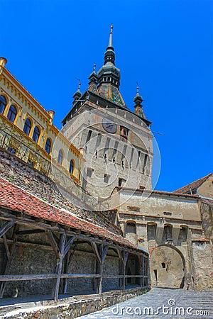 Sighisoara citadel, Romania