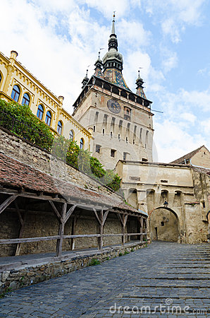 Sighisoara Clock Tower and Old Women s Passage