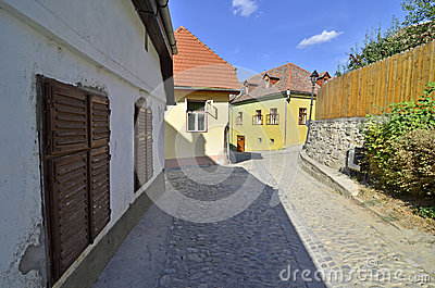 Sighisoara street rock