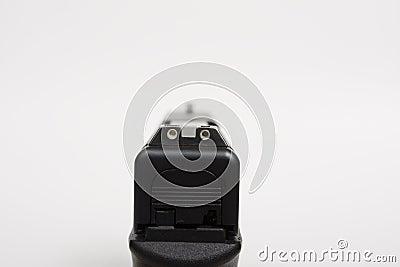 Sights of a handgun
