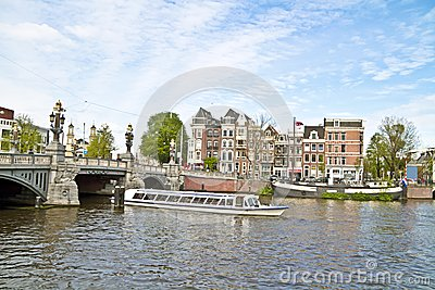 Sightseeing in Amsterdam Netherlands