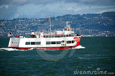 Sightseeing boat Editorial Stock Image
