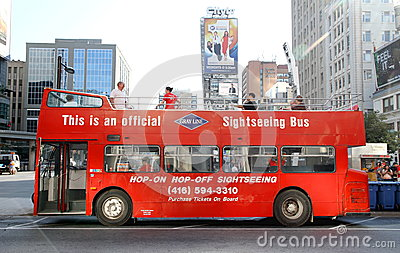 Sightseeing Tour Bus Editorial Image