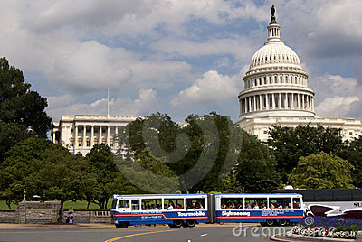 Sightseeing at US Capitol Editorial Stock Photo