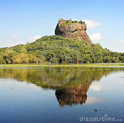 Sigiriya Rock Stock Images - Image: 19840044