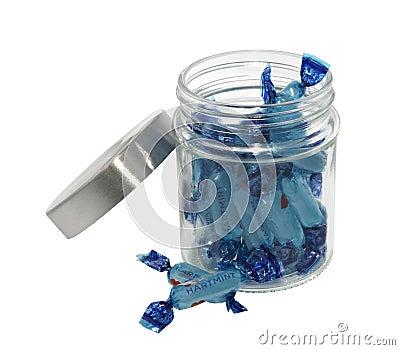 Süßigkeitglas