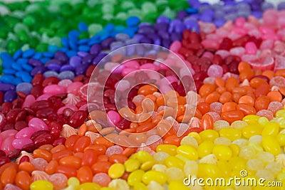 Süßigkeitregenbogen