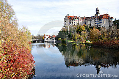 Sigmaringen Castle and Donau