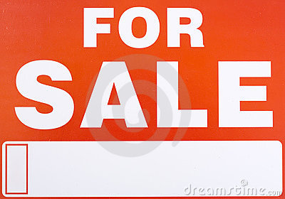 Sign �For Sale�