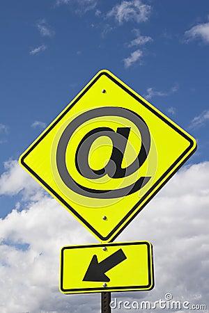 Sign @ (at)