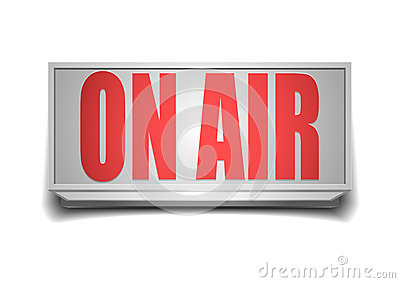 Sign on air