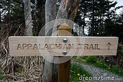 Sign Appalachian Trailhead