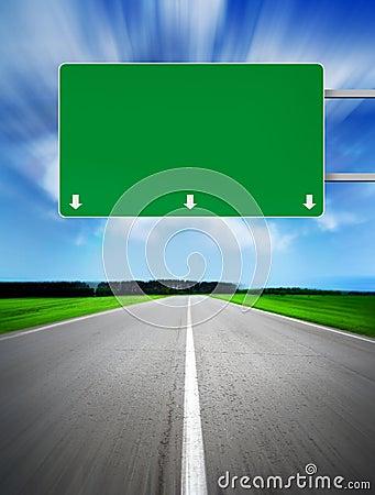 Free Sign At Road Royalty Free Stock Image - 8504066