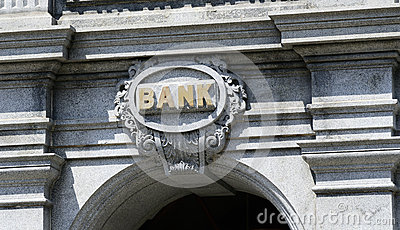 The sign of a Bank