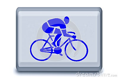 The Sign Of Bicycle Race Royalty Free Stock Images - Image: 25458899