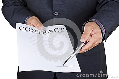 Sign the contract