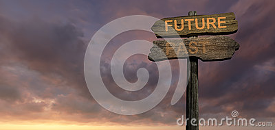Sign direction  Future-Past