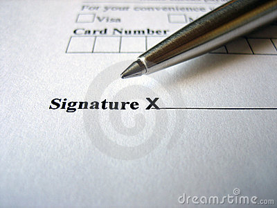 Sign Here Please