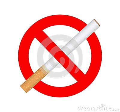 Sign no smoking