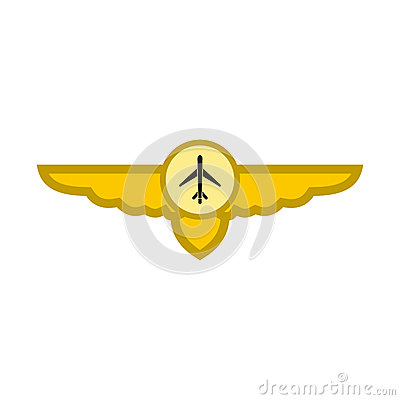 Free Sign Of Airplane With Wings Icon Stock Photos - 79307403
