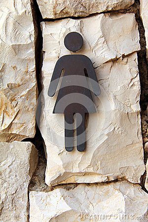 Free Sign Of Public Toilets Stock Photos - 29558973