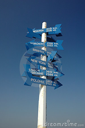 Sign Post, St. John s