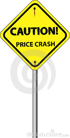 Sign price crash