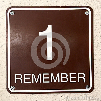 Sign 1 Remember