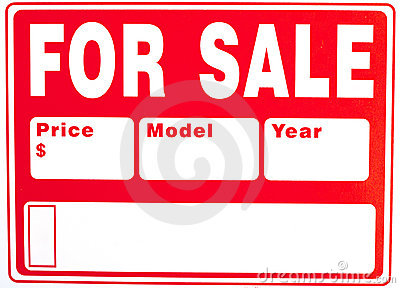 "Sign ""For Sale"" with Extra Fields"