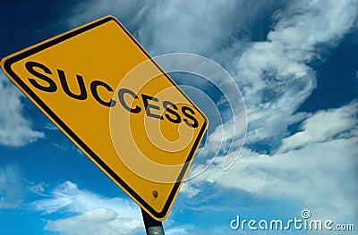 A sign of Success