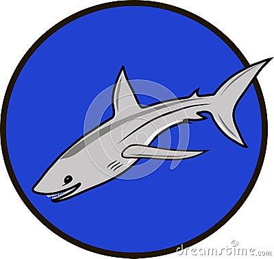 Sign symbol shark