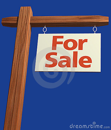 Free Signage For Sale Royalty Free Stock Photo - 101855