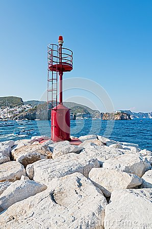Signal to the port of Ponza