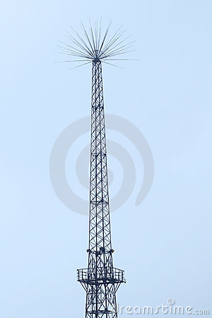 Signal Tower Royalty Free Stock Photo - Image: 21491785