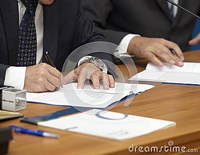 Signature signing