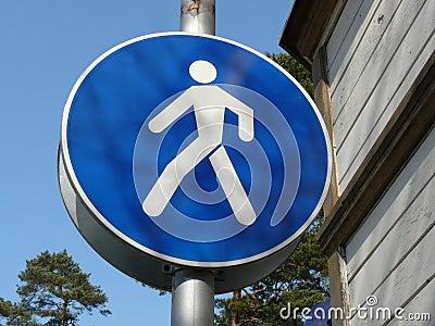Signe de marche