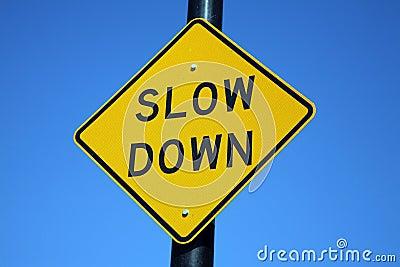 Signe de ralentissement