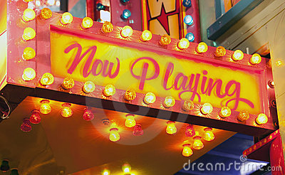 Signe flashant au carnaval