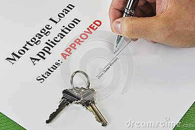 Signing An Approved Real Estate Mortgage Loan