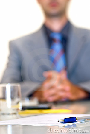 Signing Contract Royalty Free Stock Photo - Image: 12370335