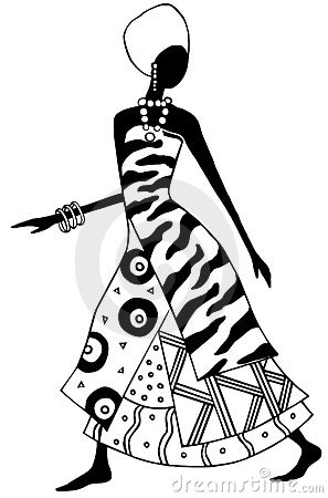 Signora africana