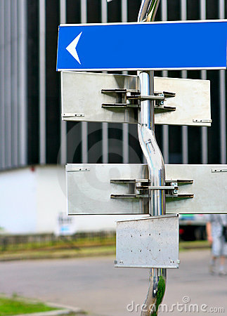 Free Signpost With Direction Arrows Stock Photography - 5780562