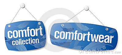 Signs for comfort collection