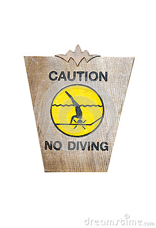 Signs diving.