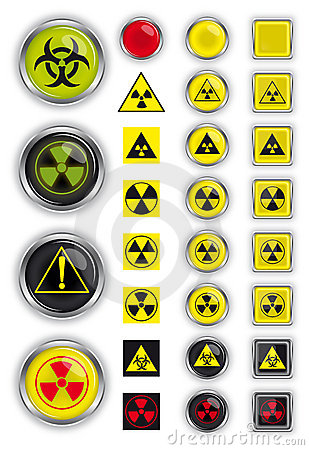 Free Signs Of Radiation Royalty Free Stock Photo - 18870855